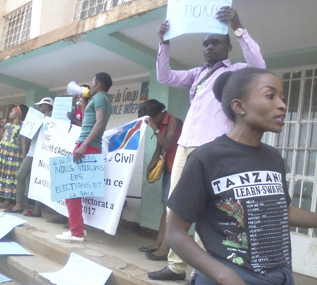 Processus électoral : La machine à voter doit être retirée parce qu' il y a crise de confiance  ( Lucha/Sud-Kivu)