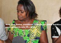José Emina (UDPS) : « Le peuple a déjà fait sa part pour que les élections aient lieu »
