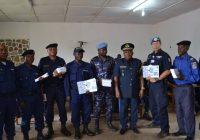 Sécurisation du processus électoral : Les 50 policiers formés sont capables de combattre l'insécurité ( Colonel PADHES MURHULA)