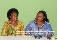 « La femme a des atouts nécessaires pour accéder aux postes des responsabilités », affirme Wilhelmine Ntakebuka.