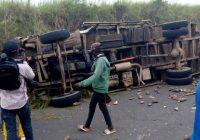 Uvira: un accident fait au moins 5 morts et plusieurs blessés à Kiliba