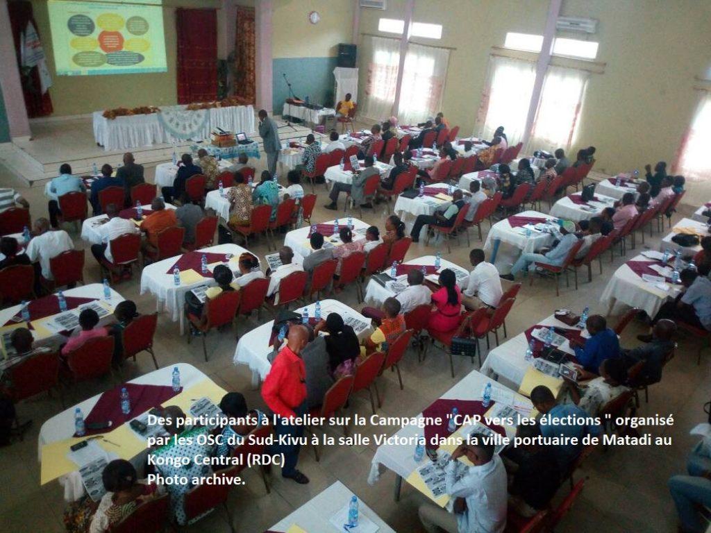 Processus électoral (RDC) : Près de 200 organisations s'approprient la campagne CAP vers les élections au Kongo central, le CAPG s'en réjouit