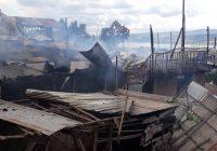 Bukavu : 2 ècoles, une èglise et 5 maisons consumées dans le feu au quartier Nkafu