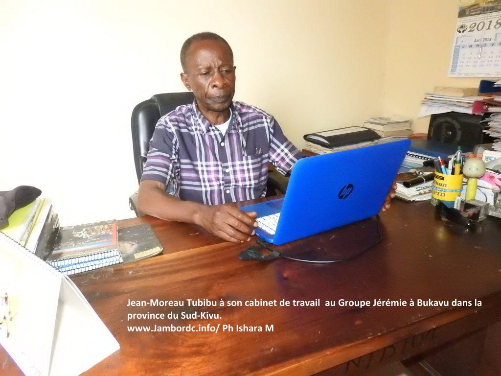 J. Moreau Tubibu sur le découpage du Nord-Kivu : « Je pense que ça serait stupide qu'on se fasse attraper par ce genre de distraction, ce n'est plus le moment »