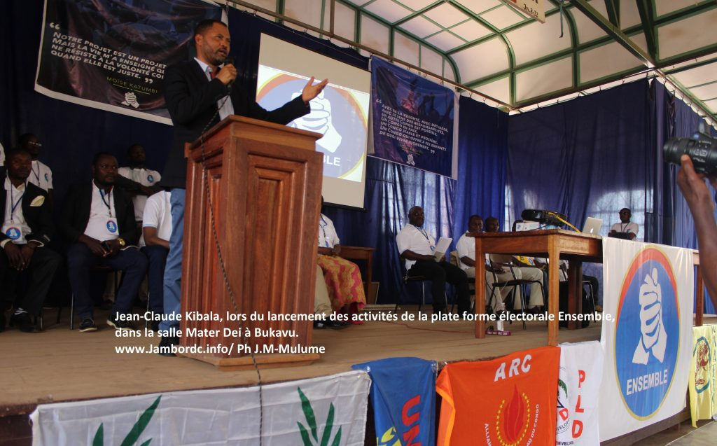 Jean-Claude Kibala (G7) : « C'est le peuple qui fera de Moise le Président. Ce n'est pas l'argent »
