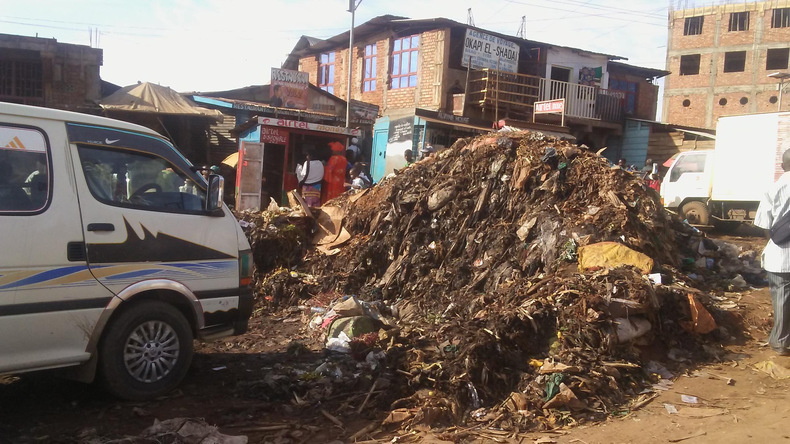 Bukavu : Les habitants de l'Essence se disent satisfaits de l'évacuation des déchets de la place Major Vangu