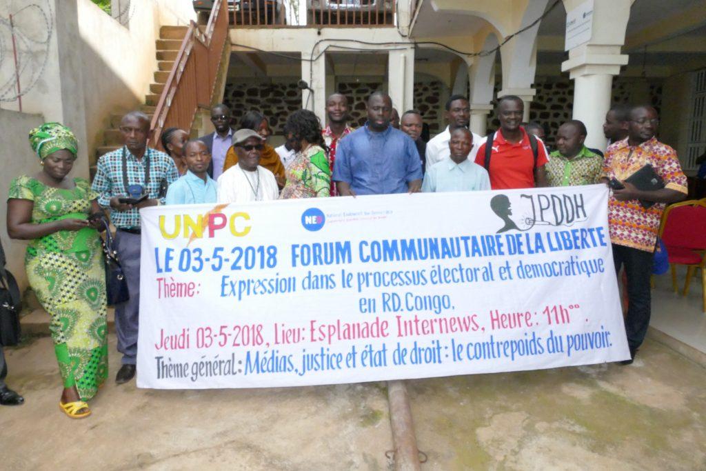Sud-Kivu : Les journalistes s'engagent à respecter l'Acte d'engagement pour les élections apaisées en RDC