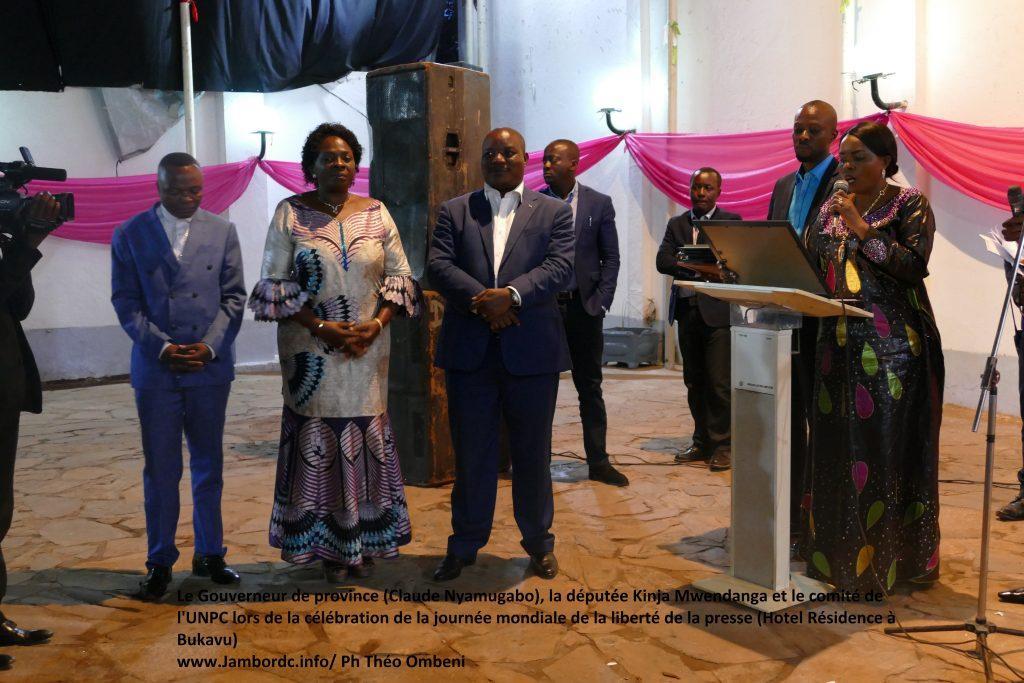 Sud Kivu: Le gouverneur Claude Nyamugabo rappelle les professionnels des médias au respect des lois et textes du pays