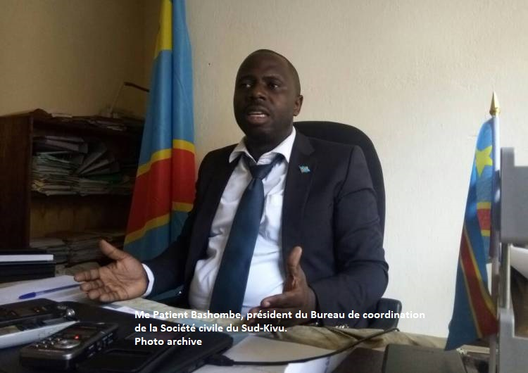 Sud-Kivu : Me Patient Bashombe s'oppose à la ''campagne Nyamugabo must go''