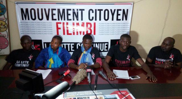 Sud-Kivu : Le Mouvement citoyen Filimbi accuse le gouvernement congolais d'être responsable de la détérioration de l'état de santé de Carbone Beni (militant)