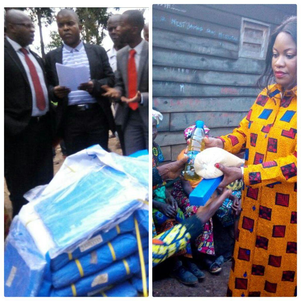 Bukavu : Après Mamy Nyamugabo, le Maire de la ville assiste les Victimes de l'incendie à Cimpunda