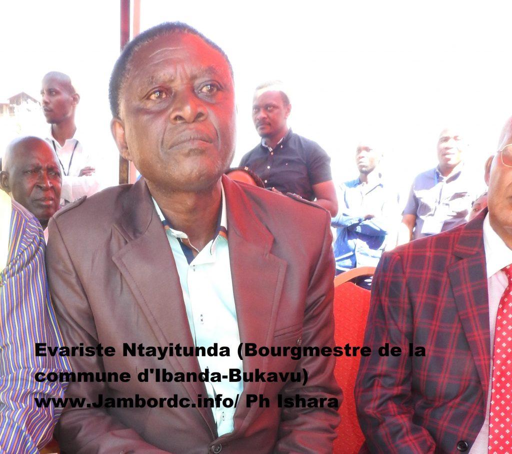 Bukavu : Le Bourgmestre Ntayitunda promet de traduire en justice les spoliateurs du terrain de Kamagema