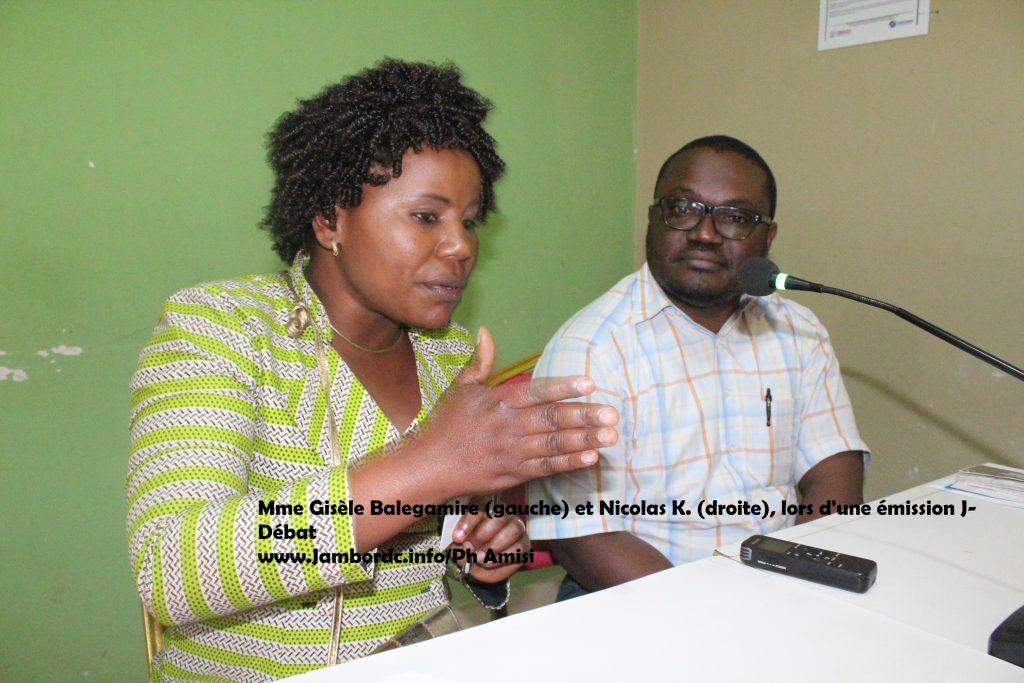 Sud-Kivu : Gisèle Balegamire plaide pour la participation des candidats députés au Forum provincial sur la paix, la sécurité et le développement