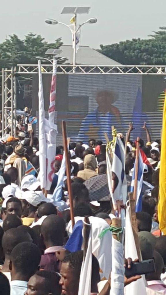 RDC-Meeting de «Ensemble»: Moïse Katumbi redit son engagement d'en finir avec la misère des congolais
