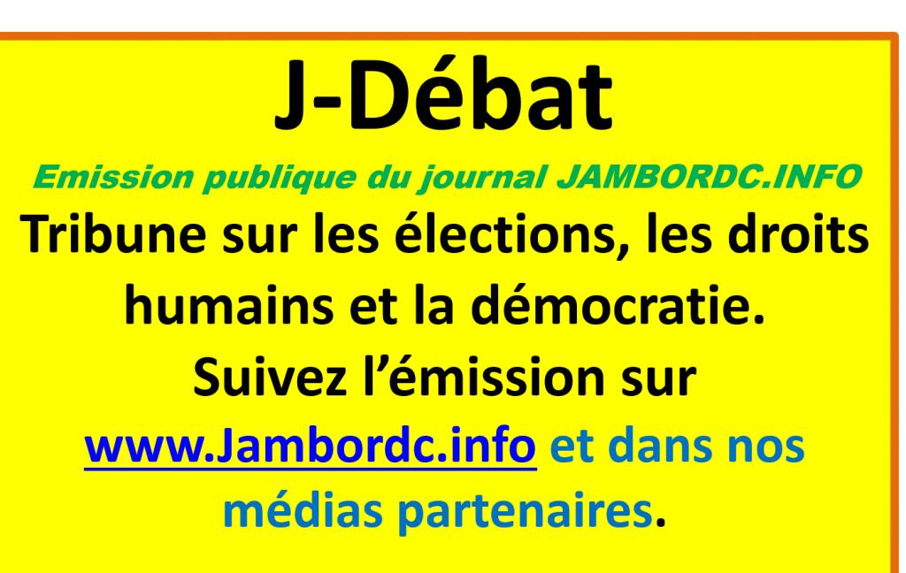 Bukavu-Medias : L'émission J-débat a vécu