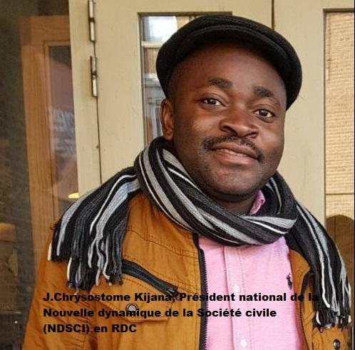 Sud-Kivu : La NDSCI salue la démission du ministre Luc Mulimbalimba et demande à l'Assemblée provinciale d'en tirer conséquences