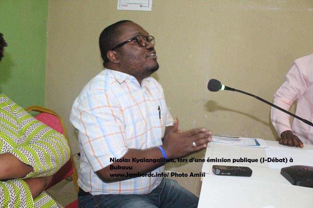 Kyalangalilwa Nicolas (Sociv) : « Il ne s'agit pas d'un forum politique, plutôt des fils et filles de la province du Sud-Kivu»