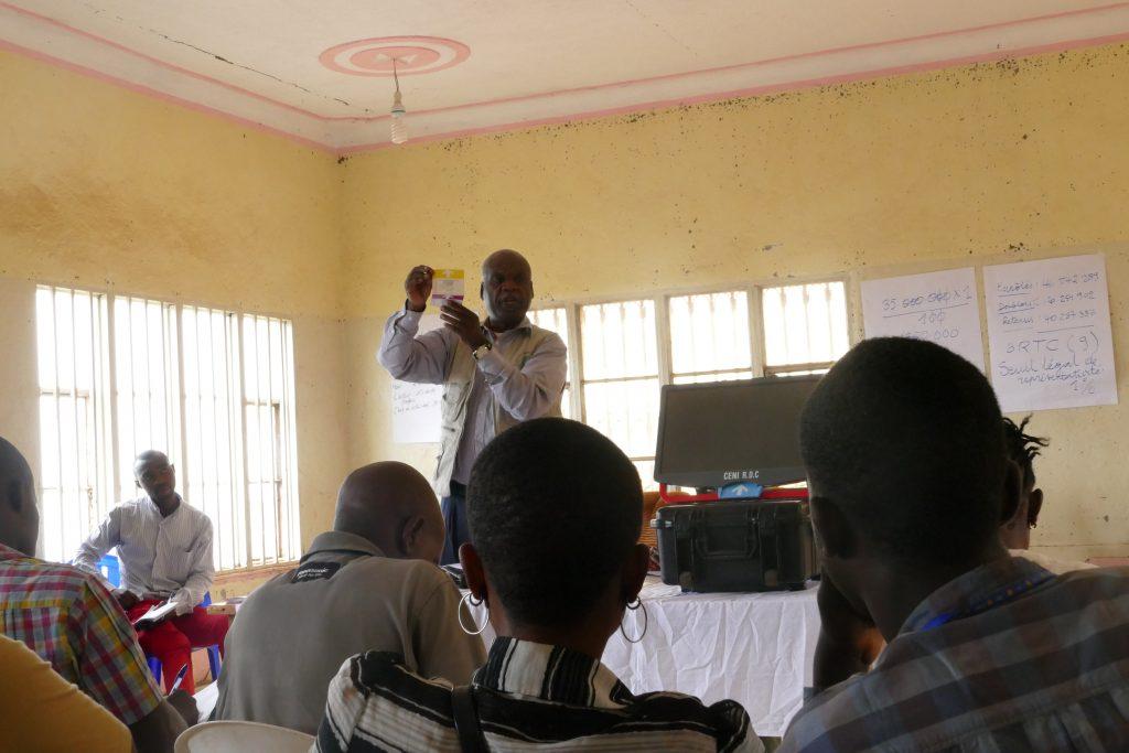 Sud-Kivu : Gaudens Maheshe appelle les candidats à postuler pour apporter le vrai changement