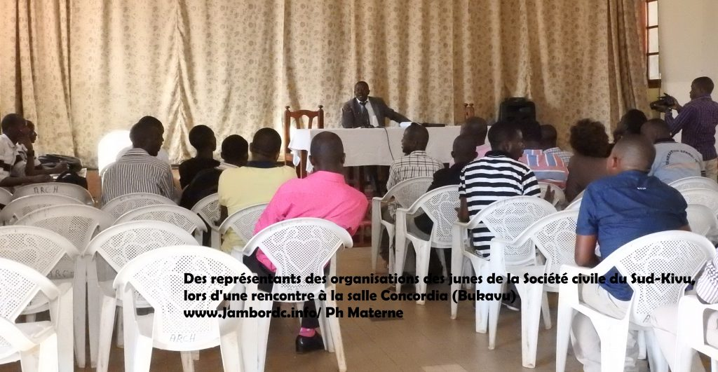 Société civile (Sud-Kivu) : La composante « Jeune » annonce l'élection pour sa  représentation au Bureau de coordination