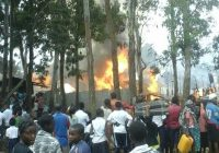 Incendie à Cimpunda : Plus de 63 maisons calcinées, la Société civile lance un appel au secours en faveur des sinistrés