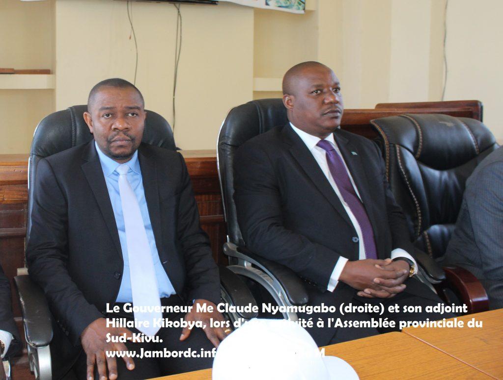 Sud-Kivu : 8 mois après son arrivée à la tête de la province, le gouverneur Nyamugabo remanie son exécutif provincial