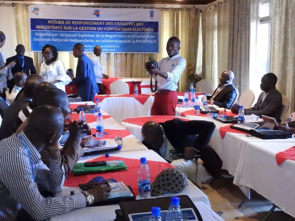 Sud-Kivu : Près de 35 Magistrats formés sur la gestion du contentieux électoral