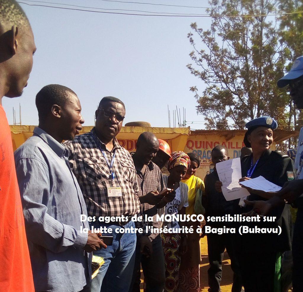Lutte contre l'insécurité à Bukavu : Voici deux numéros verts pour l'intervention de la MONUSCO