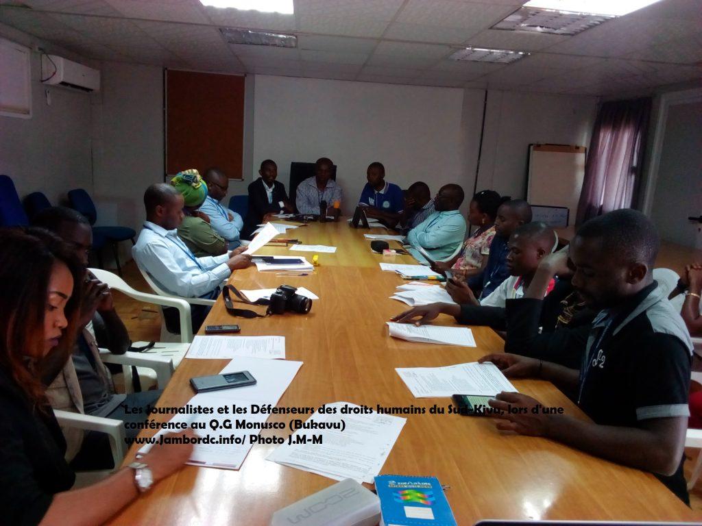 Urgent : Les organisations de la société civile du Sud Kivu exigent au gouverneur Nyamugabo de restaurer le ministère de justice et des droits humains