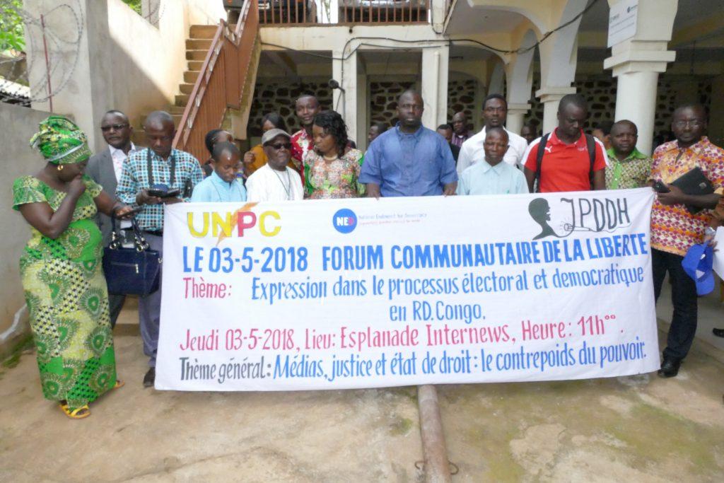 Sud-Kivu : Le capitaine Innocent Gbagbalani présente ses excuses aux journalistes