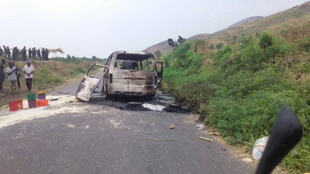 Uvira: cinq morts après l'attaque d'un bus à Kiliba