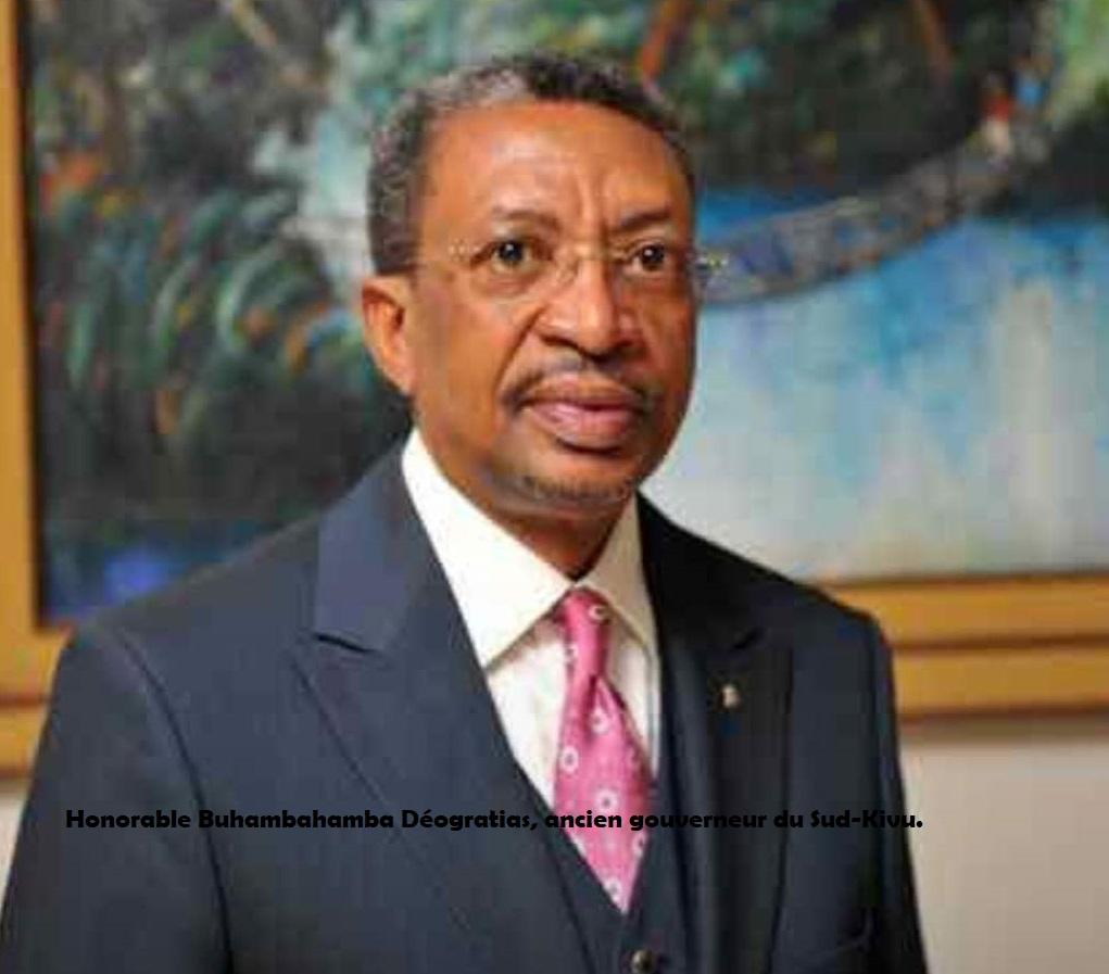 Rdc: Le gouverneur honoraire Buhambahamba porté en terre ce lundi