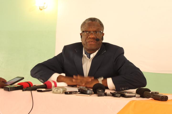 Processus électoral : Dr Dénis Mukwege redoute de la crédibilité des élections du 23 décembre