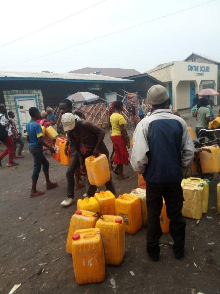 Crise d'eau à Goma: La notabilité locale exige la révocation du Ministre des ressources Hydrauliques