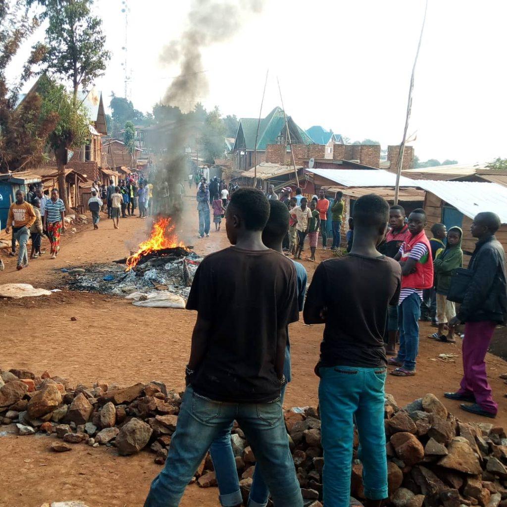 Insécurité à Bukavu : Vive tension à Camp TV ce matin