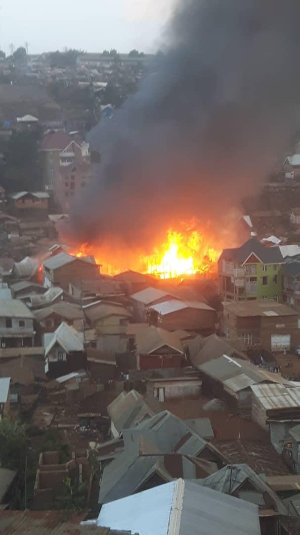 Bukavu: Un nouvel incendie sur avenue Irambo fait état d'une maison et des biens consumés