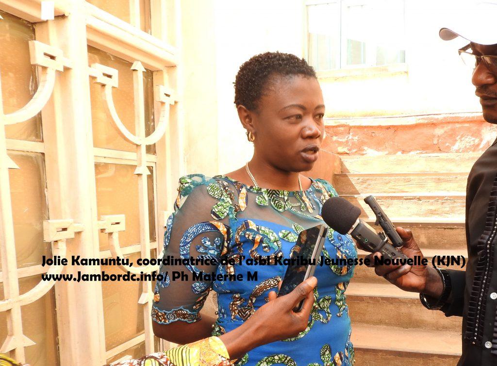 Bukavu: Jolie Kamuntu appelle les parties prenantes au processus électoral à sauver la jeunesse congolaise discriminée