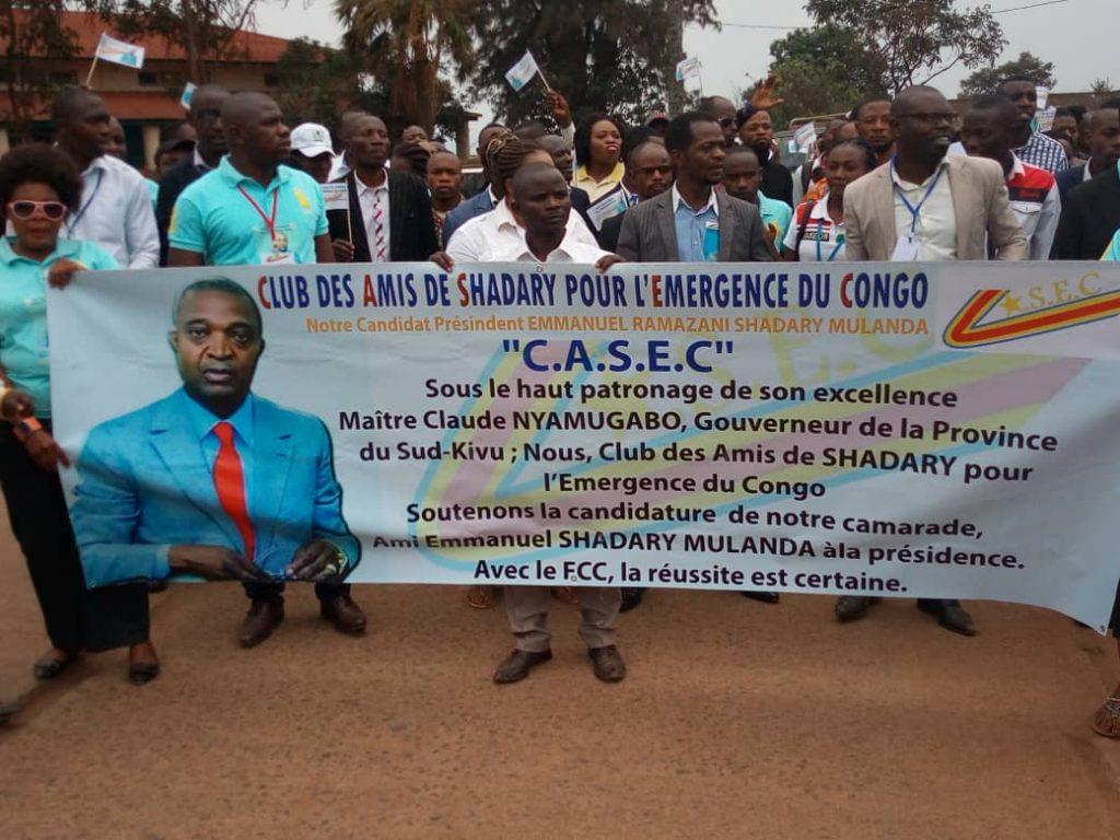 Bukavu : Une marche de soutien à Ramazani Shadary