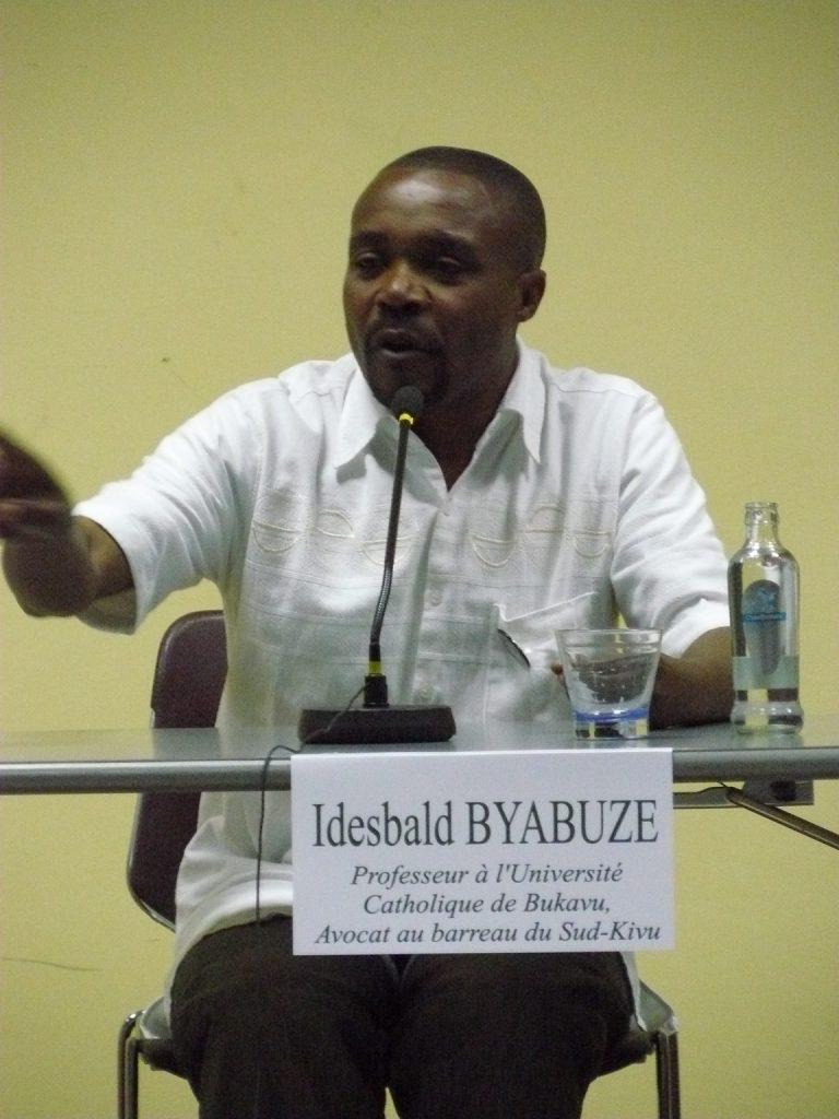 L'interpellation d'Idesbald Byabuze aux électeurs: « Après les élections, ils disent  c'est mon argent qui m'a voté »