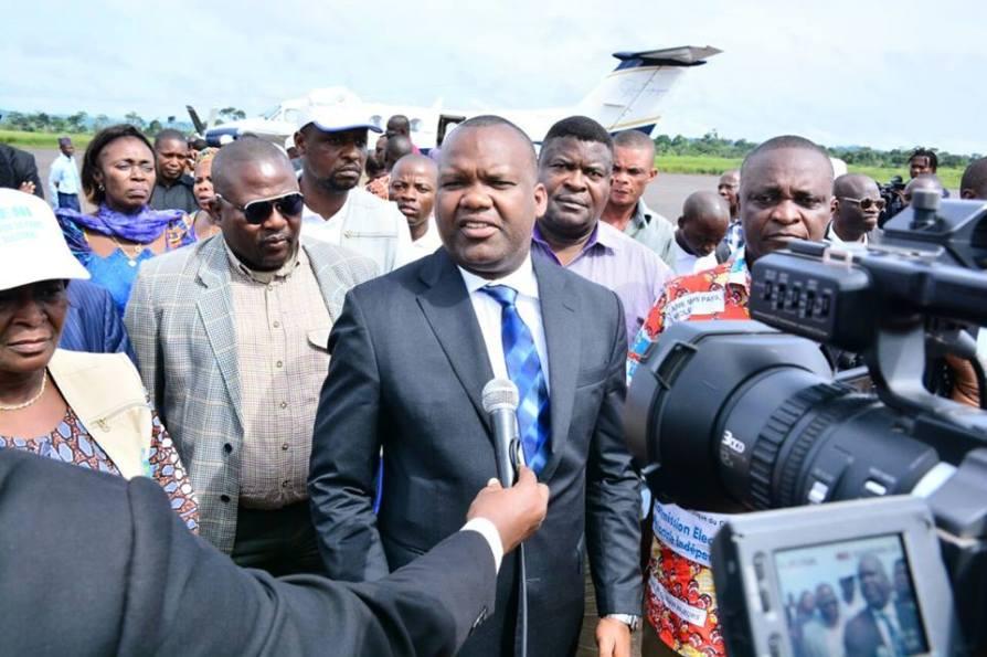 Rdc: Corneille Naanga regagne Kinshasa après la supervision des opérations préélectorales à Isiro