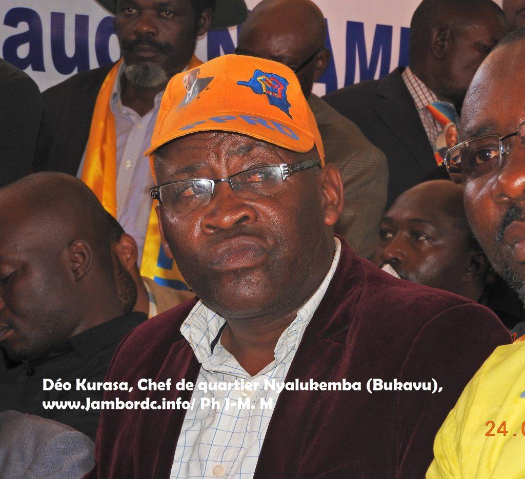 Bukavu : Déo Kurasa écope d'une suspension pour spoliation du cimetière de la Ruzizi