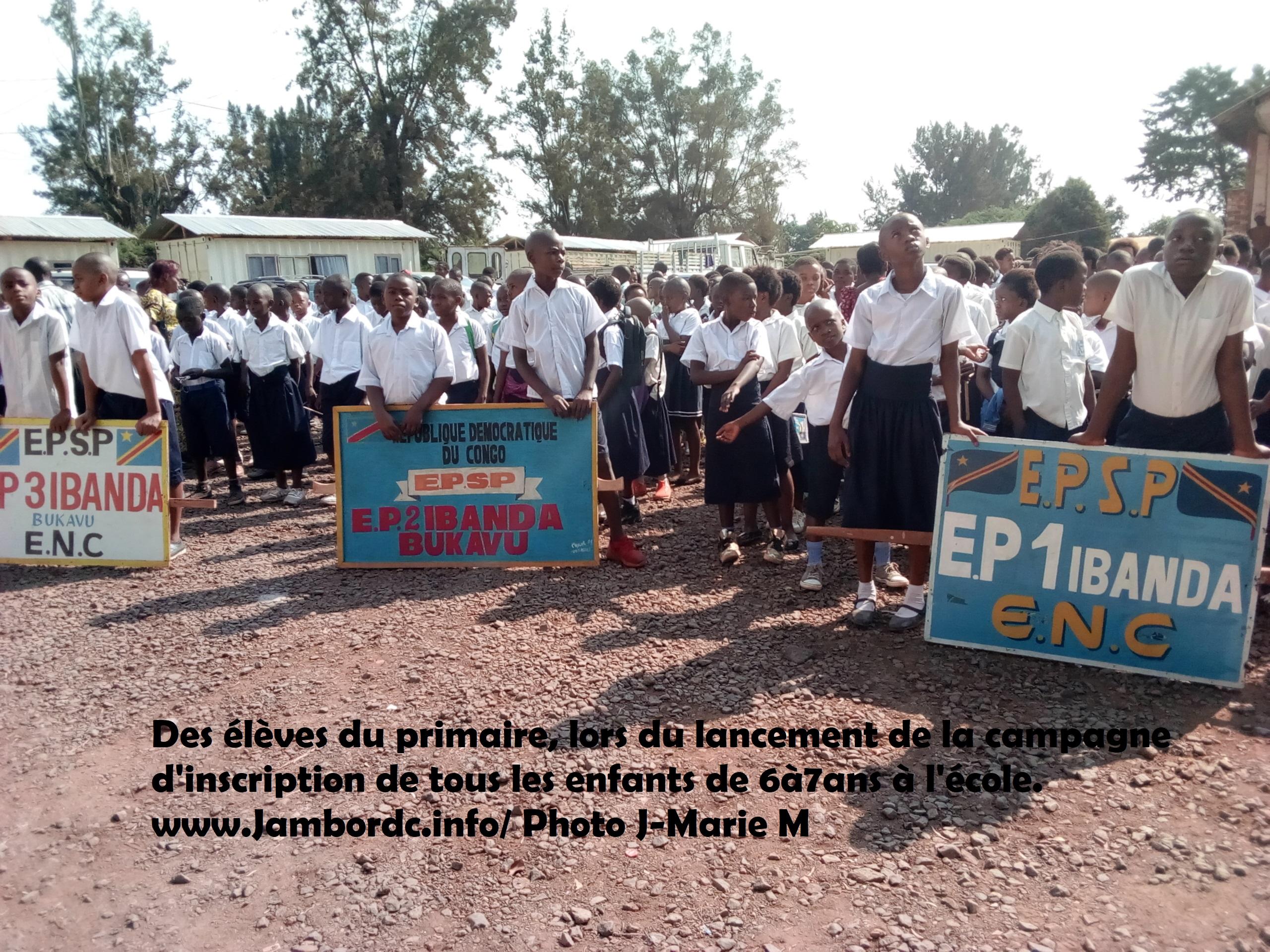 Sud-Kivu : Les parents invitent tous les partenaires éducatifs à décourager les frais illégaux pour favoriser l'accès de tous les enfants à l'éducation