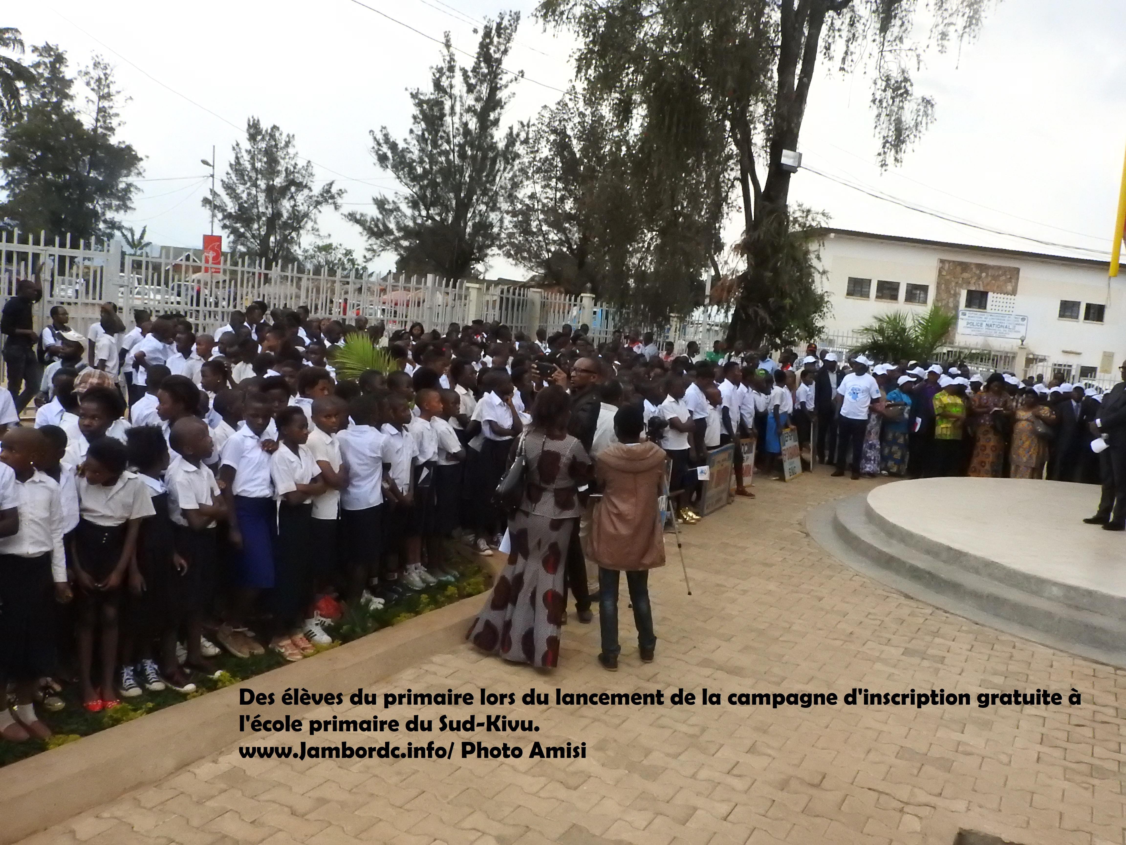 Bukavu : Faute d'avoir payé les frais de logos, beaucoup d'élèves n'ont pas étudié ce lundi
