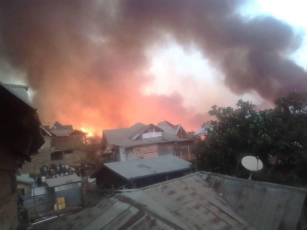 """Bukavu: La boîte de nuit """"Océan"""" en fumée à Funu( sociv)"""