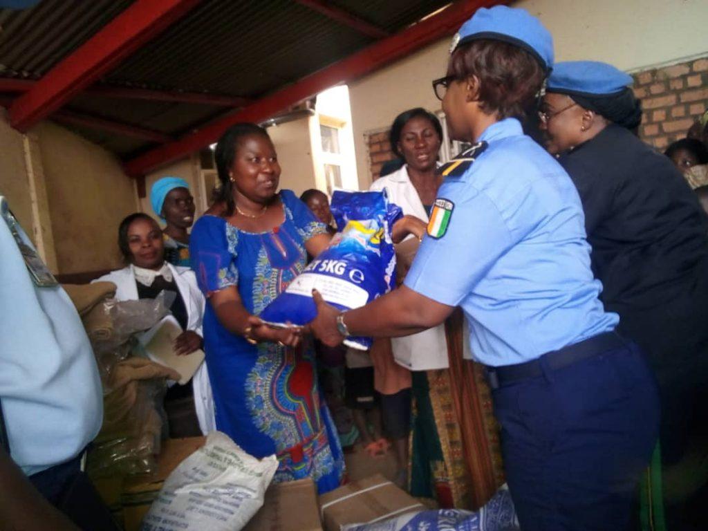 Bukavu: L'Unpol à la rescousse des femmes victimes du viol