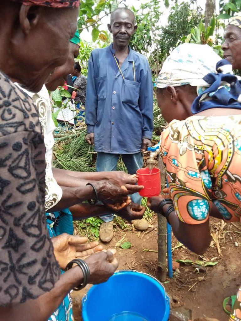 Sud-Kivu: L'eau du robinet coule à Mulengeza à Kabare