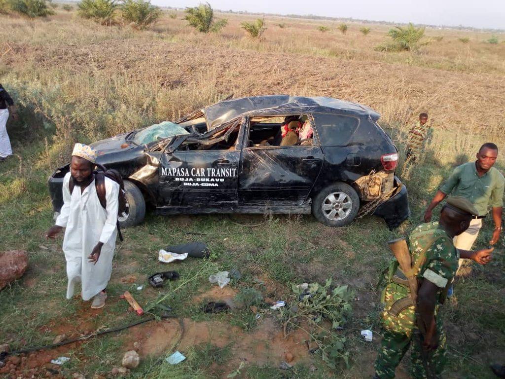 Bukavu-Bujumbura : L'accident d'une voiture de l'agence Mapasa Car fait un mort et des blessés