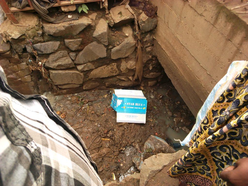 Bukavu: Un foetus humain jeté ce mercredi dans une rigole sur l'avenue pesage