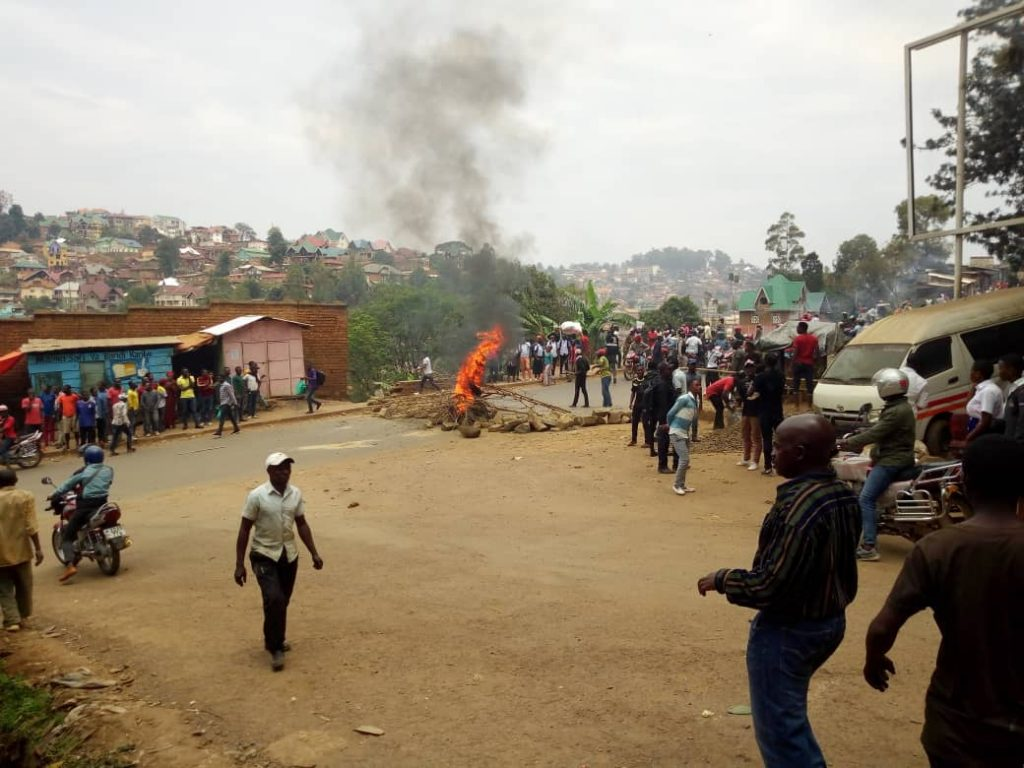 Bukavu : Tension entre la police et la population en colère après l'assassinat de Christian Amisi