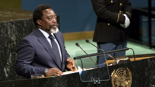 New york: Joseph Kabila parle au monde ce mardi à 23hoo de l'Est de la Rdc