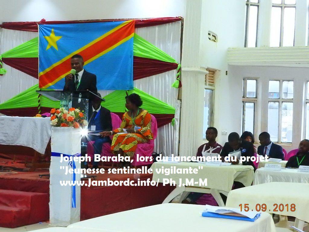 Bukavu : Un projet ''Jeunesse sentinelle vigilante'' voit le jour